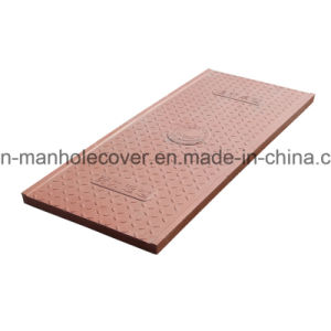 Easy to Installations FRP GRP Composite Manhole Cable Cover pictures & photos
