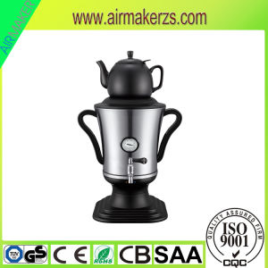 2300W Stainless Steel Electric Samovar with Flower Painting pictures & photos