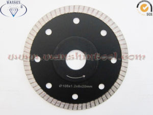 Porcelain Turbo Saw Blade with Reinforced Core pictures & photos