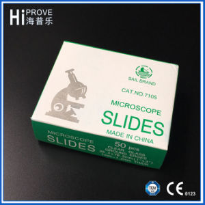 Medical Prepared Single Frosted End Microscope Slides 7105 pictures & photos