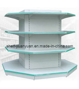 Four Sides Multifuction Supermarket Shelf (YY-15) pictures & photos