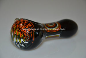Wholesale High Quality 10.5cm Colored Glass Pipes Glass Hand Pipes Glass Smoking Pipes pictures & photos