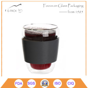 TUV Certificated Coffee Glass Cups for Ghana pictures & photos