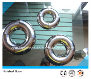 Polished Stainless Steel Sanitary Pipe Fittings Elbow for Food pictures & photos