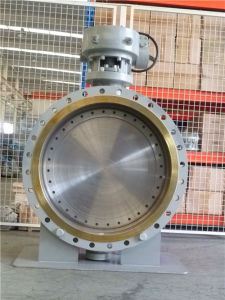 (Triple Eccentric) Metal Seated Flanged Type Butterfly Valve pictures & photos