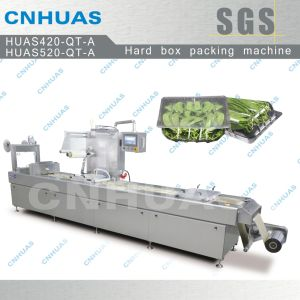 Modified Atmosphere Thermoforming Vacuum Packing Machine for Vegetables pictures & photos