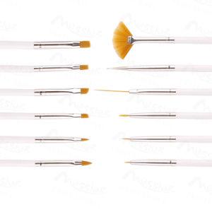 12X Nail Art Polish Brush Painting Drawing Pen Set UV Gel DIY Decoration pictures & photos