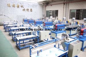 High Cutting Precision PC Light Tube Extrusion Production Line pictures & photos