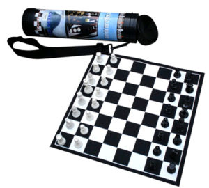Chess Board Game in Roll up Packing