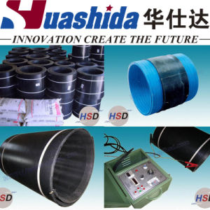 Electro Fusion Welding Sleeve Closure for PU Insulation Pipe pictures & photos
