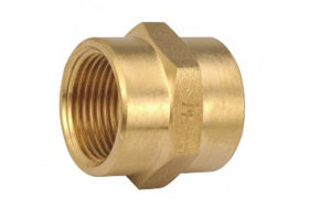 Brass Female Couping, Brass Coupling, Brass Fittings (T-101)