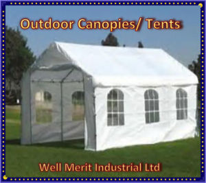 Outdoor Canopies/ Camping Tent/Sheltering Viny Tarp pictures & photos