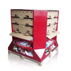 Cardboard Display Shelf Rack, Floor Display, Display Stand, Dump Bins pictures & photos