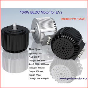 High Power 5 Kw Electric Motorcycle Motor pictures & photos