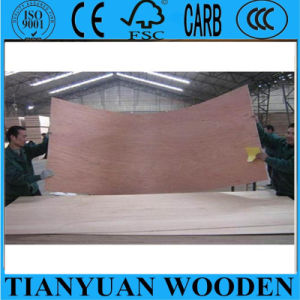 Thin Thickness Okoume Plywood for Door Skin pictures & photos