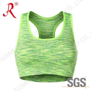 Seamless Yoga Top/ Sports Bra (QF-S343) pictures & photos