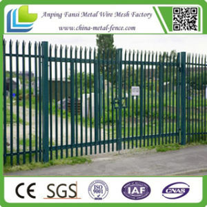 1.8m High W Section Palisade Fence with Powder Coating pictures & photos