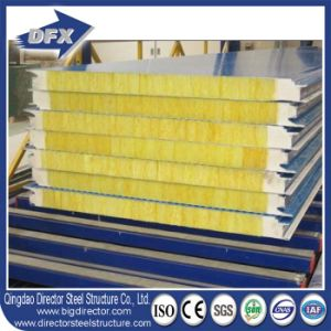 PU Sealing Side Glass Wool Exterior Cladding Wall Panels pictures & photos