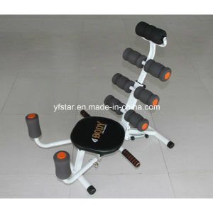 Rotatable Seat and Resistance Bands Abdominal Exercise Equipment Prices pictures & photos