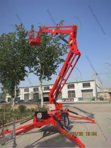 Towed Boom Lift for Aerial Working pictures & photos