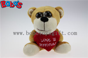 Valentine Gifts Big Eyes Toy Series Plush Bear with Heart Pillow pictures & photos