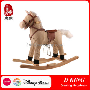 Children Playground Equipment Spring Rider Wooden Rocking Horse Toy pictures & photos