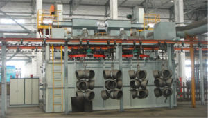 Q383-4 Hanging Chain Through Type Shot Blast Cleaning Machine pictures & photos