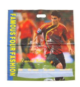 Branded Fashion Die Cut Printed Carrier Plastic Bags Sports (FLD-8555) pictures & photos