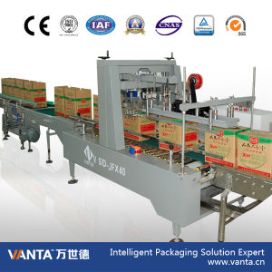 Automatic Tape Carton Sealer 40cpm Corrugated Carton Sealing Machine