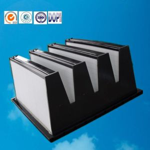V-Bank Combined Mini Pleat Industrial HEPA Filter pictures & photos