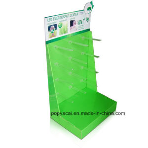 Light Promotion Display Stand POS Display Stand with Arylic Hook pictures & photos