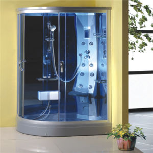 Competitive Price Corner 1200 Bathroom Shower Cabin Steam Room pictures & photos