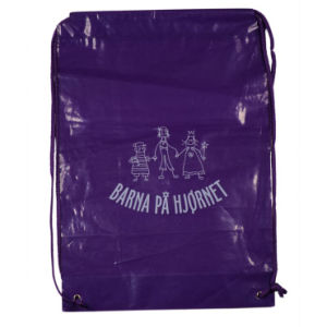 Backpack Drawstring Bag with Die Cut for Mountain Climbing (FLS-8226) pictures & photos