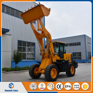 Chinese Manufacture 2200kg Hydraulic Automatic Driving Wheel Loader pictures & photos