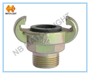China Factory Direct Carbon Steel Universal Air Hose Coupling- E. U. Male Ends pictures & photos