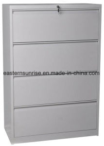 Cheap Four Drawers Powder Coating Metal Steel Iron Filing Cabinet pictures & photos
