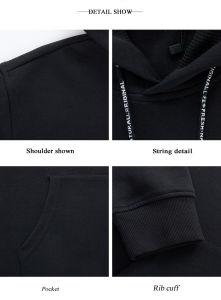 Men′s and Women′s Wholesale Pullover Hoodie Sweatshirt pictures & photos