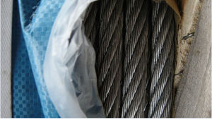 2017 Hot Sale Black Color Ungal 6X19s+FC Wire Rope with Good Packing and Good Quality pictures & photos
