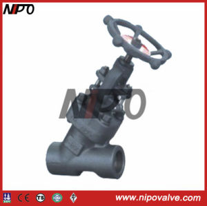 Forged Steel Y Type Globe Valve pictures & photos