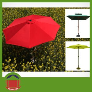 Central Post Waterproof Sun Umbrella Garden Umbrella pictures & photos