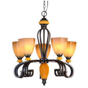 Traditional Rust Color Chandelier (MX1235-5) pictures & photos