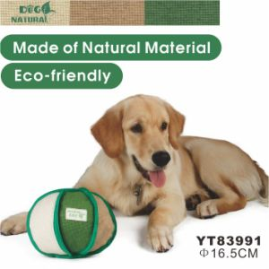 Hemp Eco-Friendly Natural Dog Toy (YT83991) pictures & photos