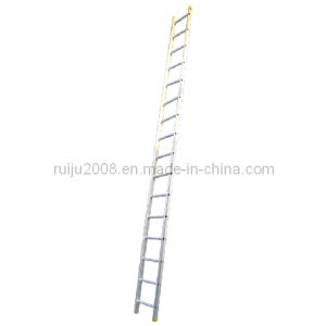Straight Aluminum Ladder for Fire Control and Industrial pictures & photos