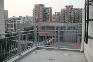 2014 Hot Sale Aluminum Glass Fence pictures & photos