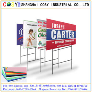 Factory Sale PP Corrugated Sheet Plastic Board for Printing and Advertising pictures & photos