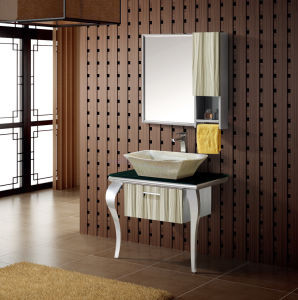Stainless Steel Bathroom Vanity Cabine (T-9480) pictures & photos