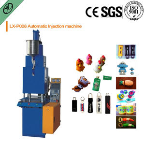 Automatic PVC Logo Micro-Injection Machine pictures & photos