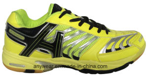 Men Outdoor Sports Court Footwear Squash Badminton Shoes (815-8115) pictures & photos