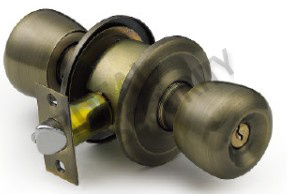 Cylindrical Venezuela Knob Door Lock (WS5731AB-ET) pictures & photos