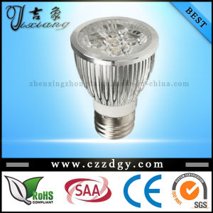 Dimmable E27 4X3w Warm White LED Spotlights
